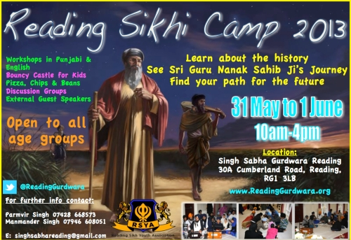 Reading Sikhi Camp 2013