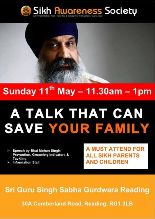 Sikh Awareness Society at Reading Gurdwara